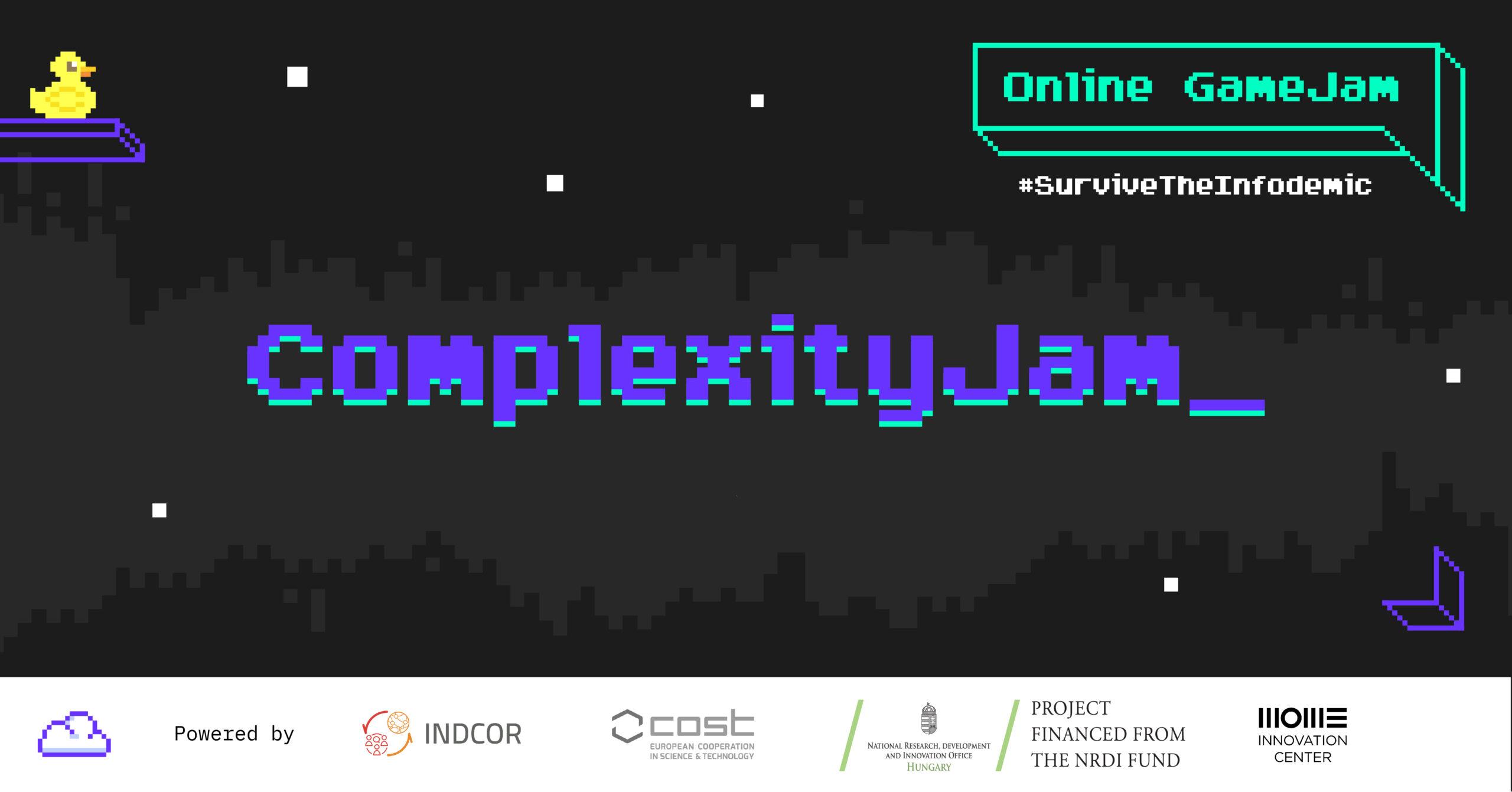 Open Call for ComplexityJam Organizer